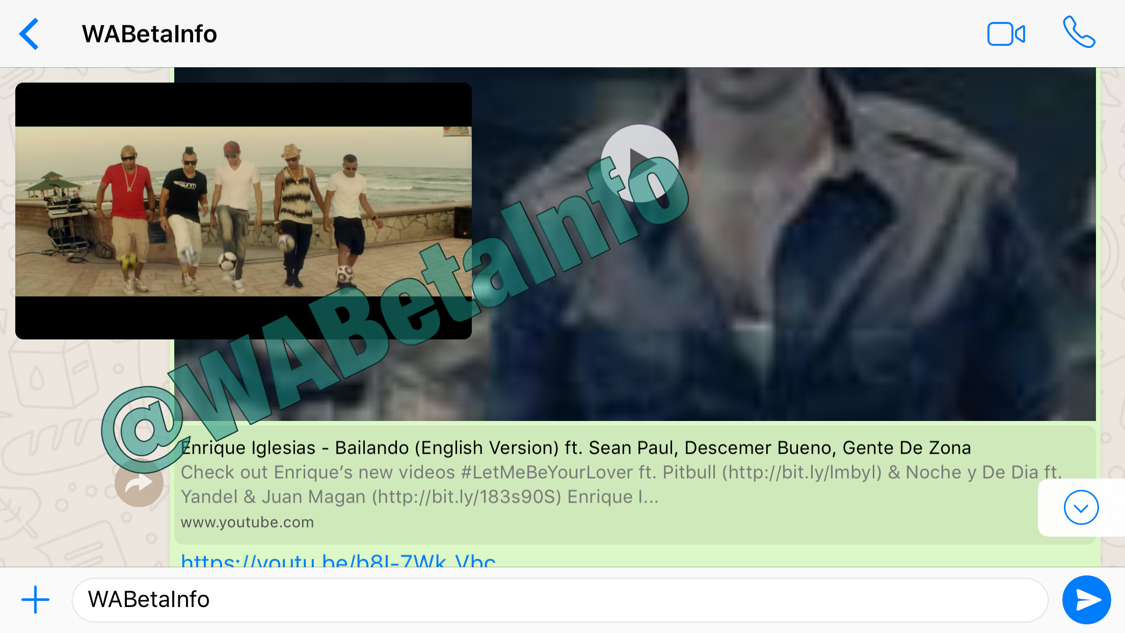 WhatsApp will support YouTube in the app! | WABetaInfo