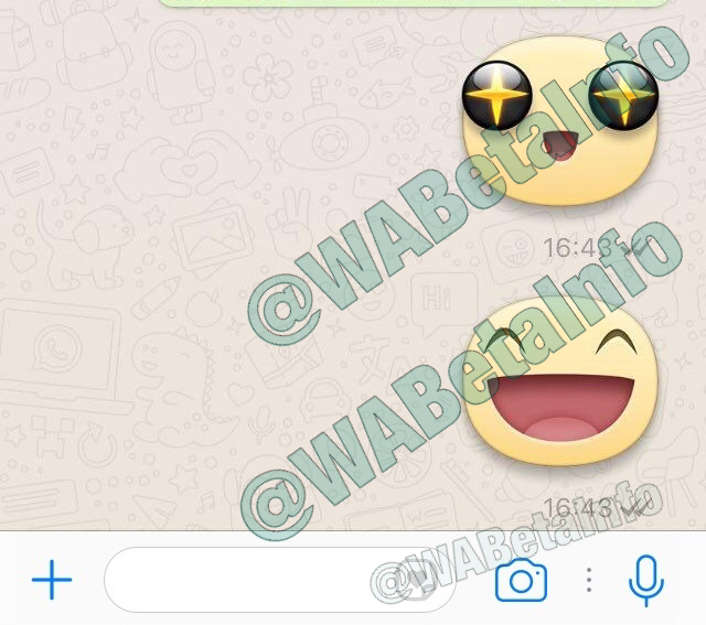 First Stickers appear in WhatsApp Chat! | WABetaInfo
