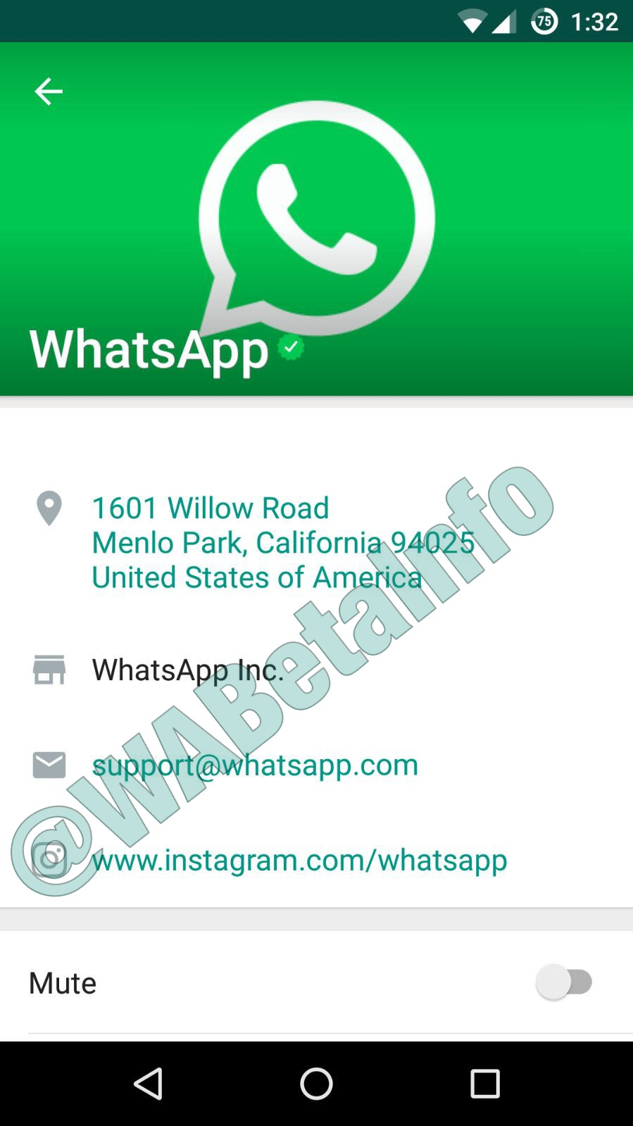 Whatsapp Business Service Synced Wabetainfo