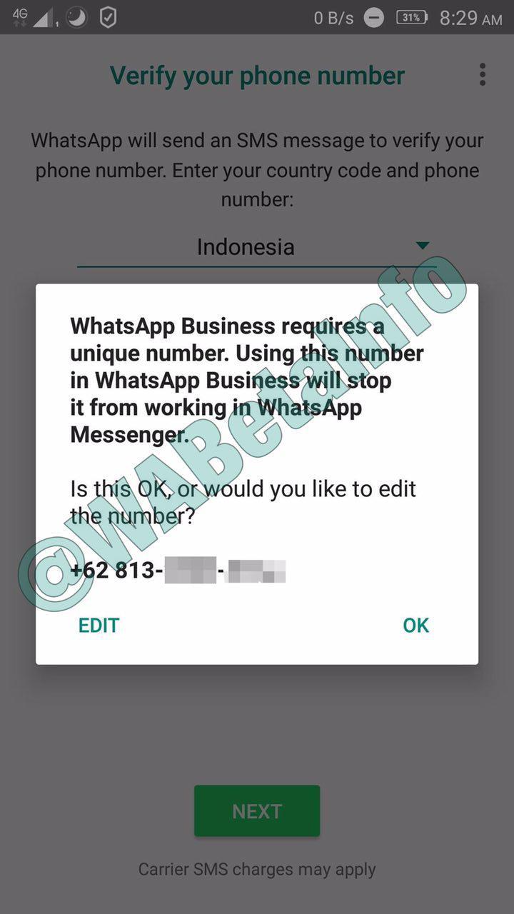 WhatsApp to start to open beta program for WhatsApp Business