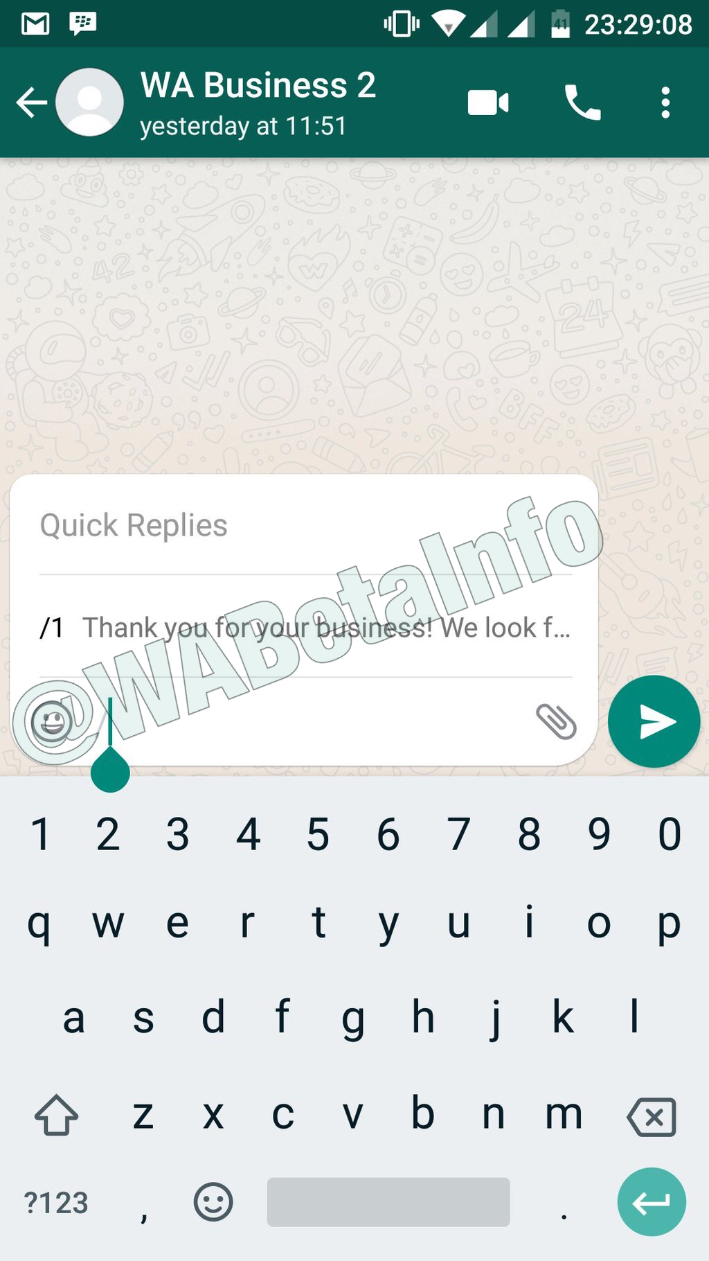 Whatsapp business beta for android 0079 whats new wabetainfo greeting messages kristyandbryce Images