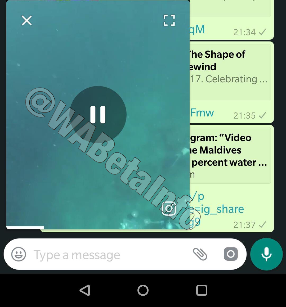 WhatsApp is rolling out the PiP mode for Android today