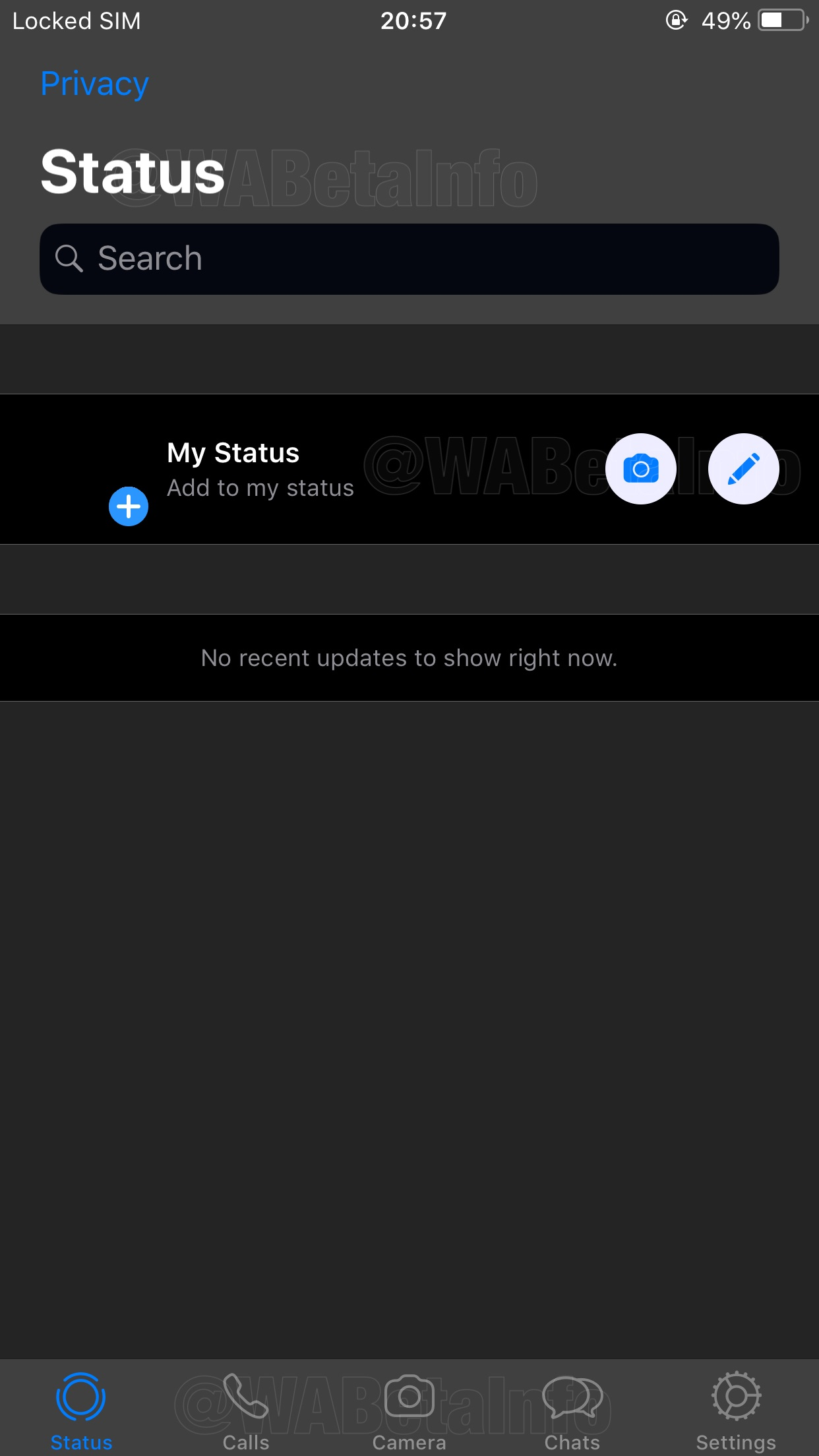 Whatsapp To Develop 2 Types Of Dark Theme For Ios Wabetainfo