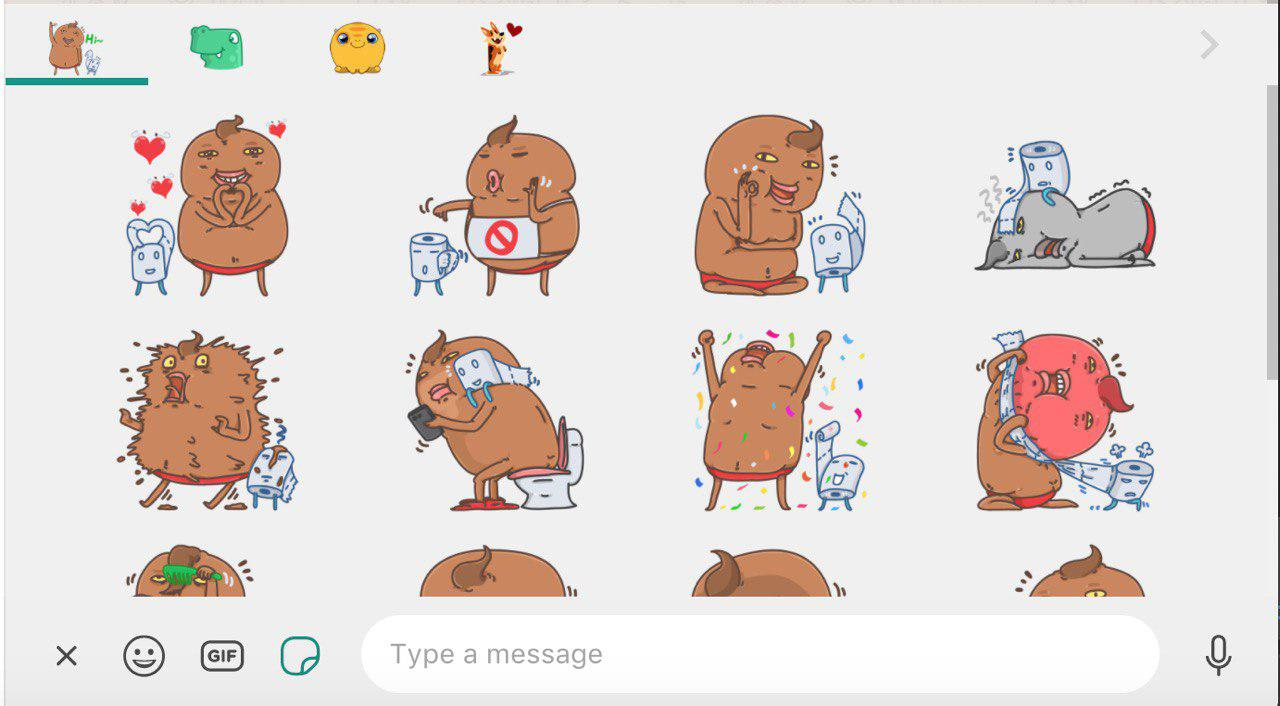 WhatsApp is rolling out the Stickers feature! | WABetaInfo