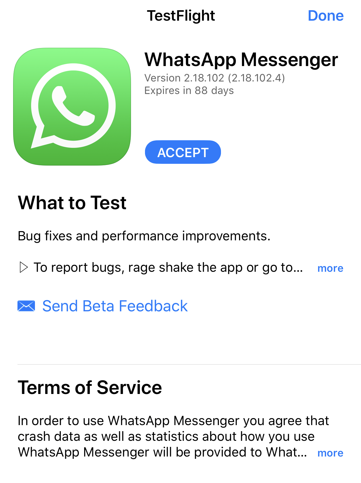 WhatsApp officially launches an iOS public beta program today