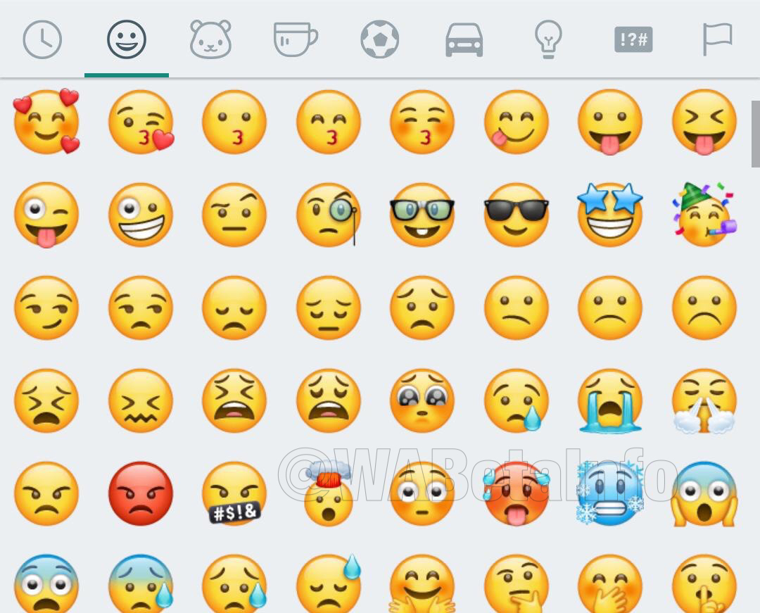 New Emojis Whatsapp