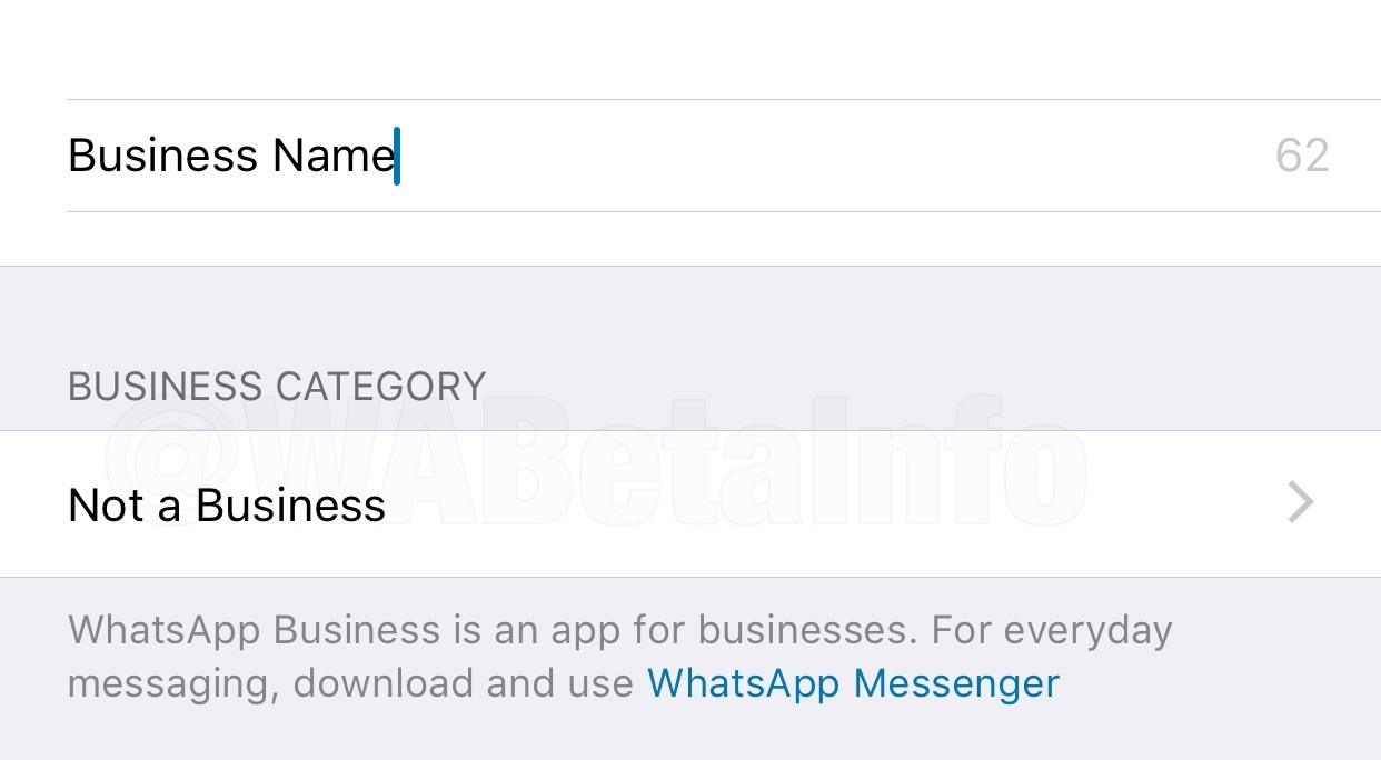 WhatsApp Business beta for iOS is finally available today
