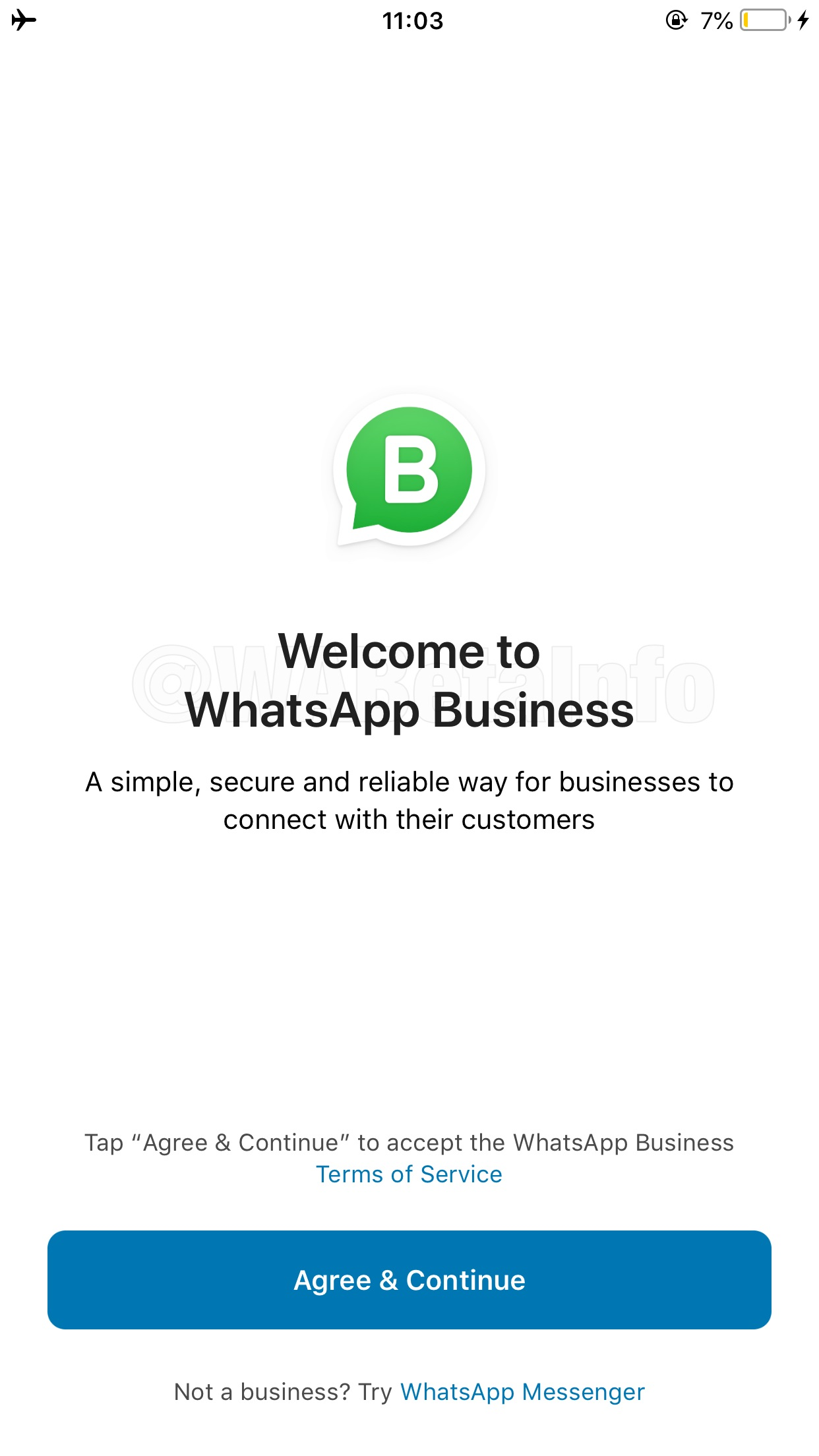 WhatsApp Business beta for iOS is finally available today! | WABetaInfo