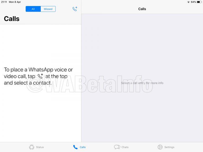 WhatsApp Buat iPad Akhirnya Tiba Tiba, Ini Bocorannya