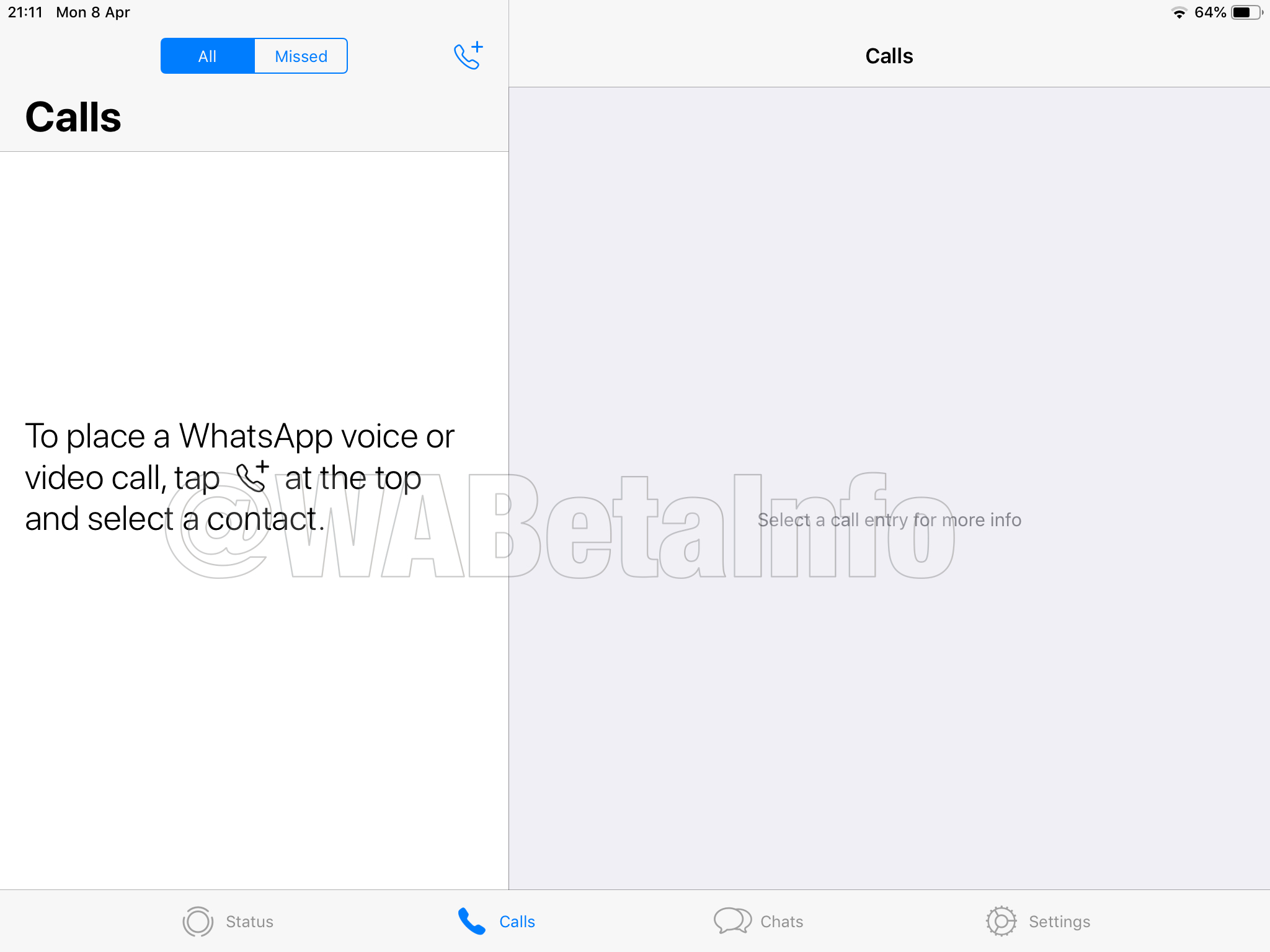 Spotted The Whatsapp For Ipad Official App Under