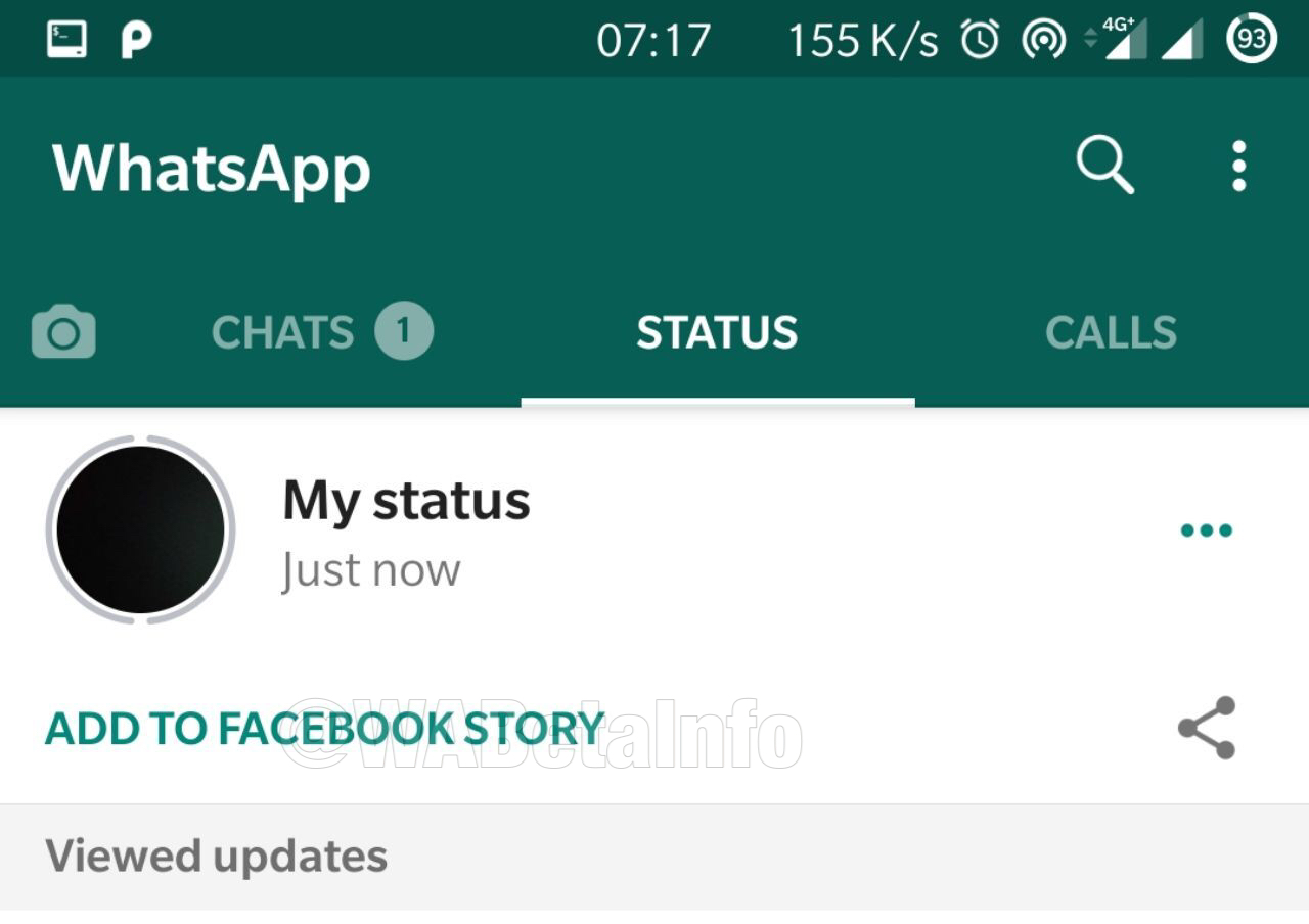 This is what WhatsApp's 'Share to Facebook' feature will