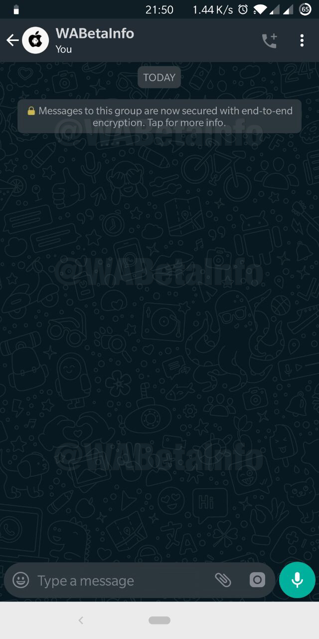 WhatsApp beta for Android 2.19.327
