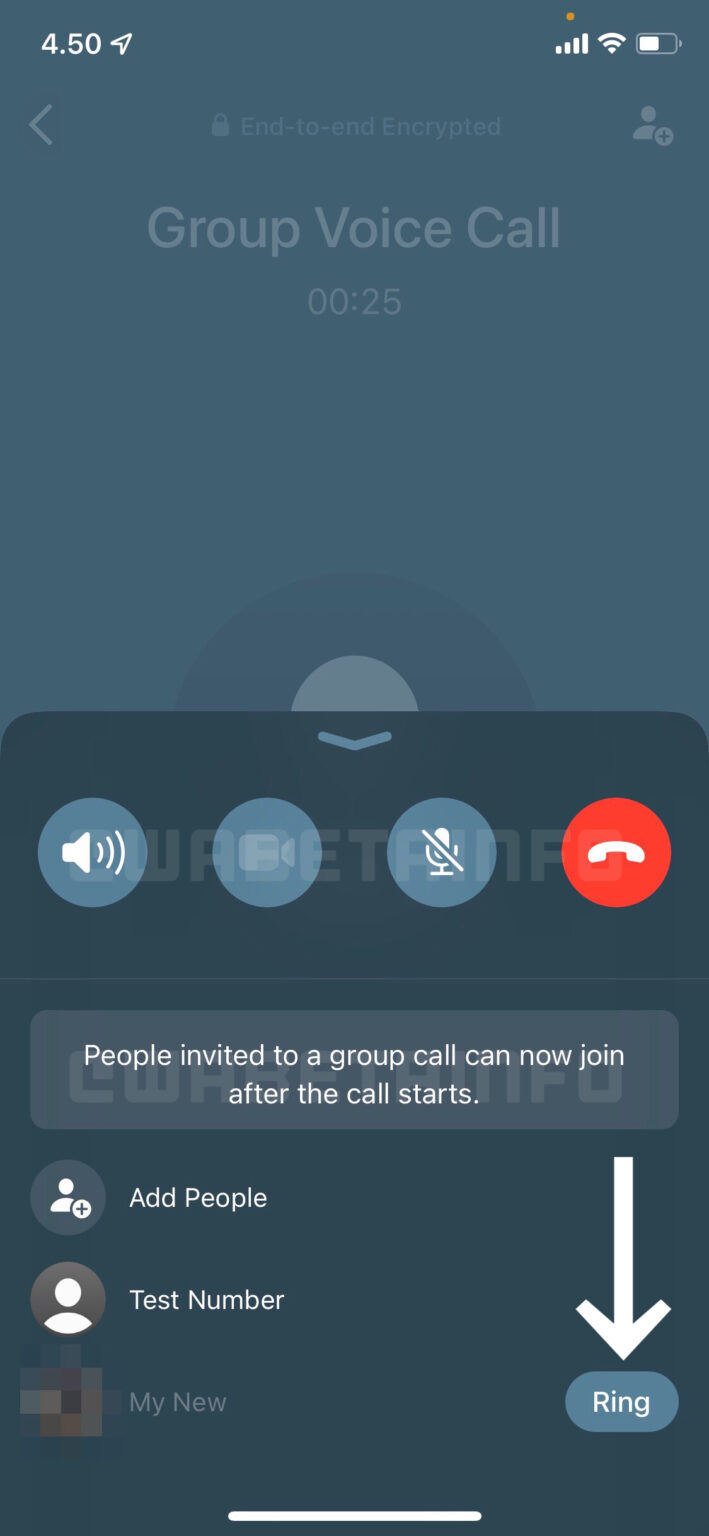 Joinable Calls