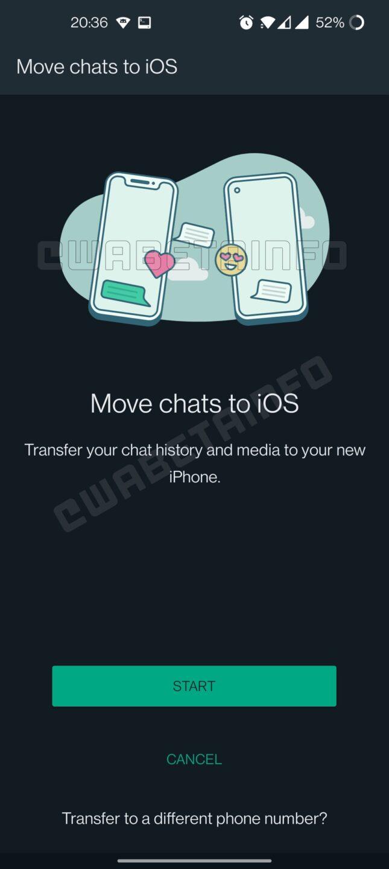 Android kwenda iOS
